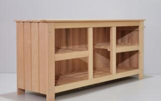 saunamööbel, mööbel sauna, sauna eesruum mööbel sauna eesruumi, puidust riiul, puidust kummut, saunariiul, riiul-kapp